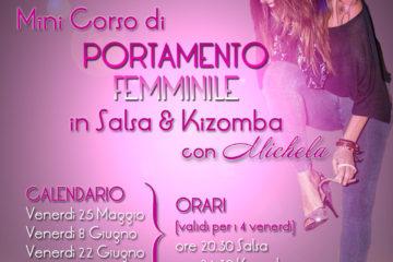 Mini Corso di PORTAMENTO FEMMINILE in Salsa & Kizomba con Michela