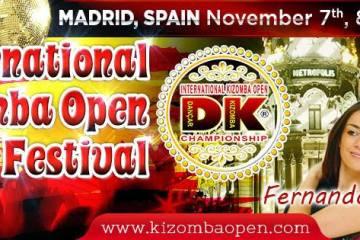 INTERNATIONAL KIZOMBA OPEN FESTIVAL (MADRID – SPAGNA) 7, 8, 9 NOVEMBRE 2014