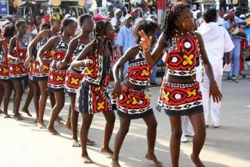 Carnaval em Angola é Brincadeira!