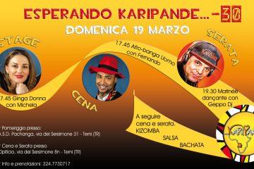 ESPERANDO KARIPANDE… -30!!